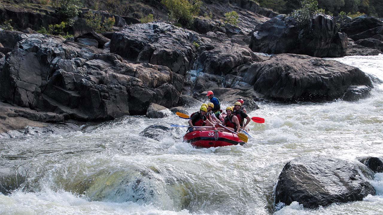 The Adventure Series: Barron Gorge white water rafting