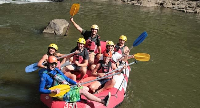This truly was the full rafting experience