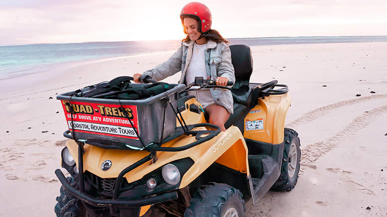 Sunset Quad Biking Adventure, 2 Hours - Coral Bay - Adult and Child