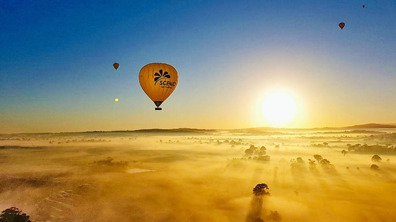 Special Offer Hot Air Balloon Flight with Breakfast - Gold Coast - For 2
