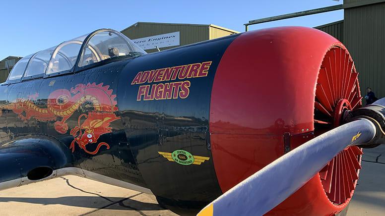 Warbird Aerobatic Flight, 15 Minutes - Gippsland