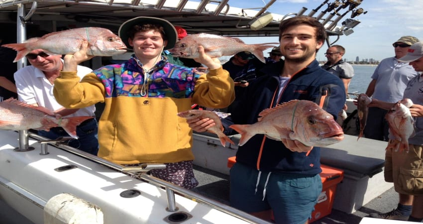 Fishing Trip, Weekday Half Day For 4 - Melbourne