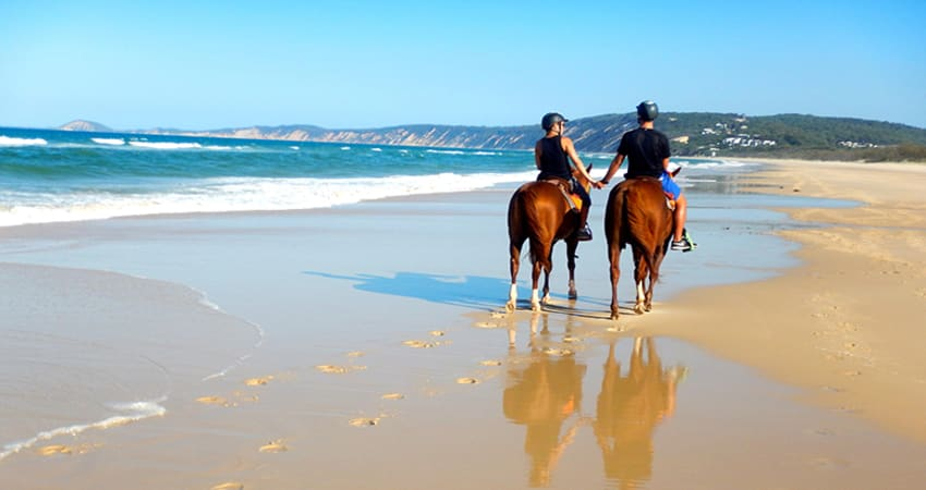 Rainbow Beach Horse Riding, No Experience Necessary - Rainbow Beach