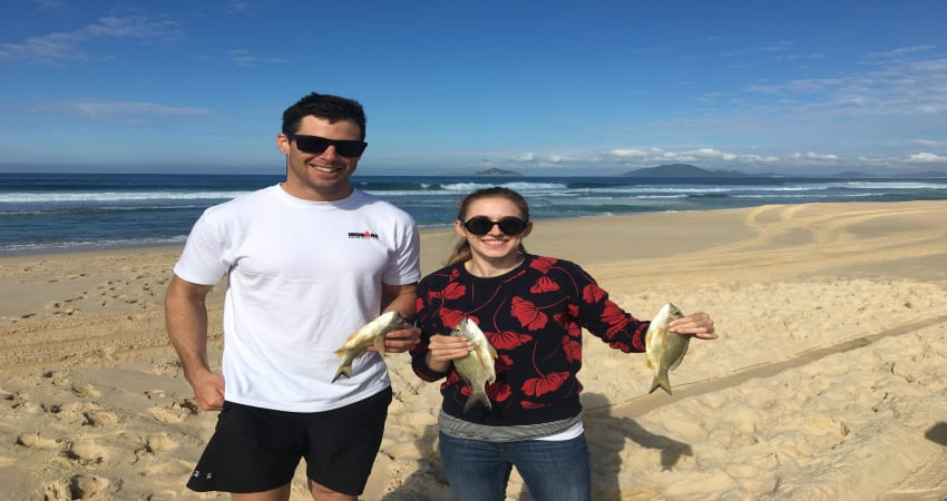 4WD Beach Fishing Tour in Port Stephens