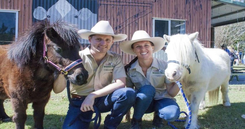 Horse Riding and Animal Tour at Trevena Glen Farm - Brisbane