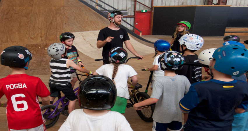Private Indoor BMX Lesson for kids, Melbourne