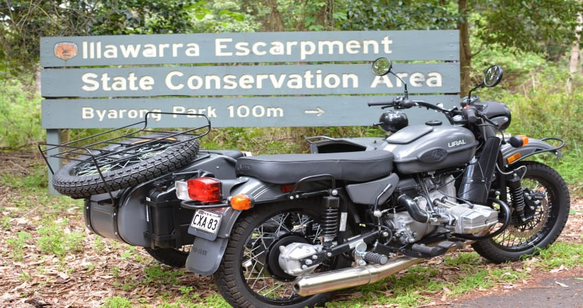 Mount Keira Sidecar Tour, 60 Minutes - Wollongong