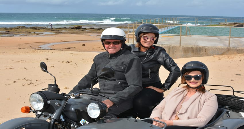 South Coast Sidecar Tour, 60 Minutes - Wollongong