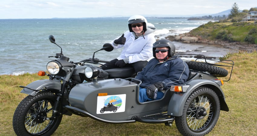 2 Hour South Coast Sidecar Tour - Wollongong