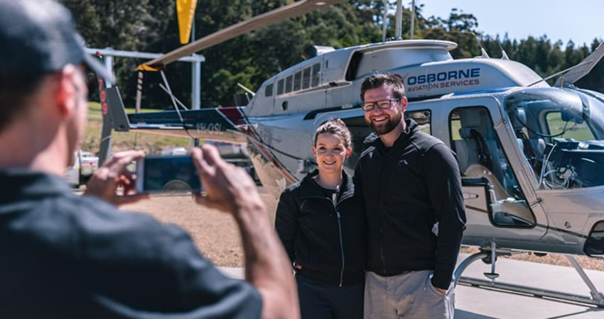 Scenic Helicopter Flight For 2, 15 Minutes - Port Arthur