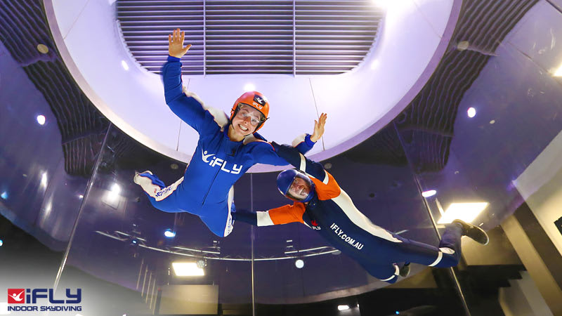 iFLY Indoor Skydiving Perth, 4 Flights - Weekday