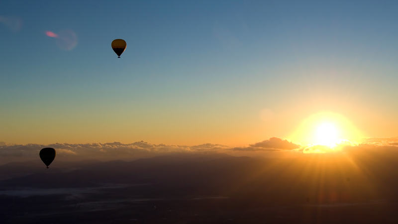 Hot Air Balloon For 2 With Breakfast - SPECIAL OFFER - Gold Coast