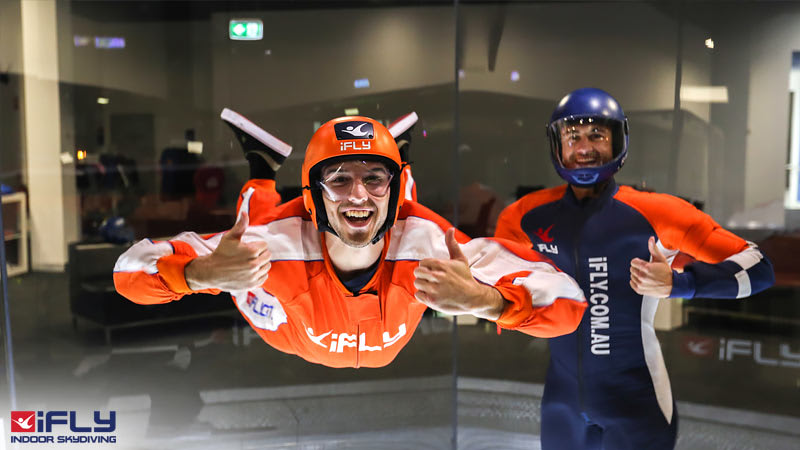 Indoor Skydiving Sydney, iFLY Intro Weekday (2 Flights) - WEEKDAY SPECIAL - NOW FLYING!