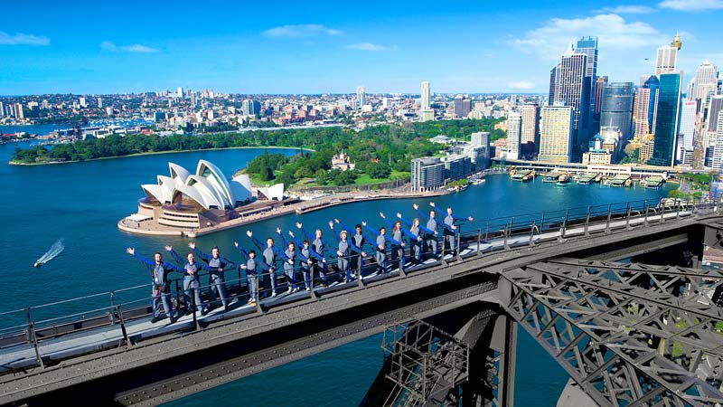 Sydney Harbour Bridge Climb - Daytime