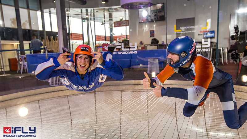 Indoor Skydiving Sydney, iFLY Plus Package (4 Flights) - NOW FLYING!