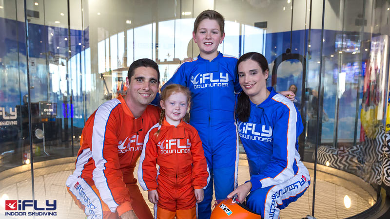 iFLY Indoor Skydiving Gold Coast - 2 Flights SPECIAL
