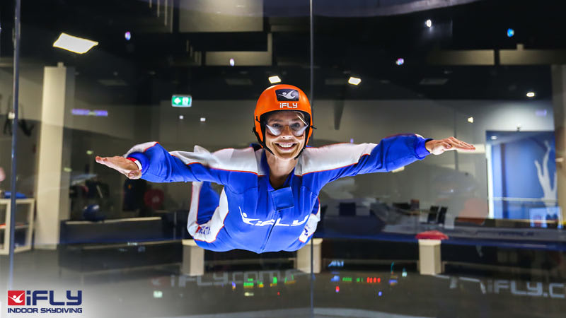 Indoor Skydiving Gold Coast, iFLY Value Package (4 Flights) - BUY ONE GET ONE FREE