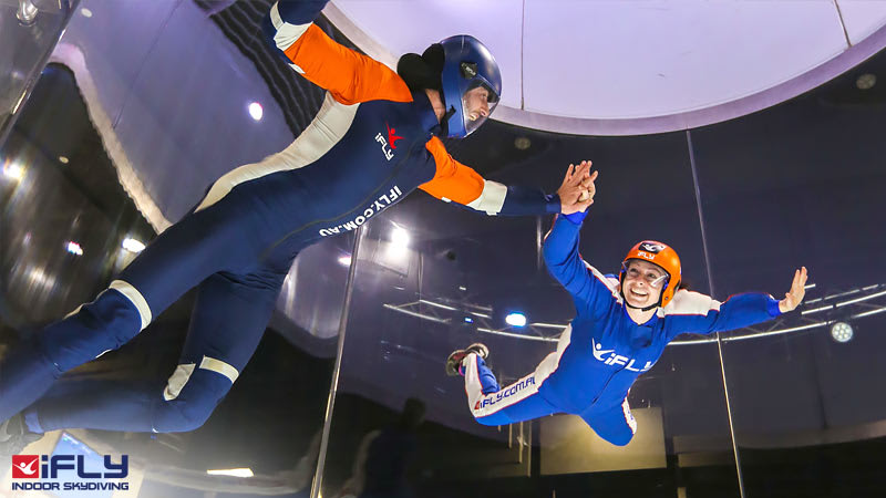 Indoor Skydiving Gold Coast, iFLY Plus Package (4 Flights) WEEKDAY SPECIAL OFFER!