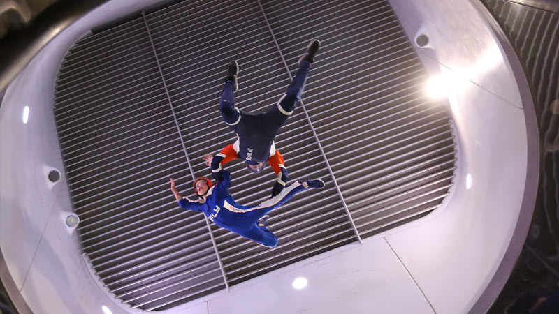 iFLY Indoor Skydiving With Virtual Reality, 3 Midweek Flights - Perth