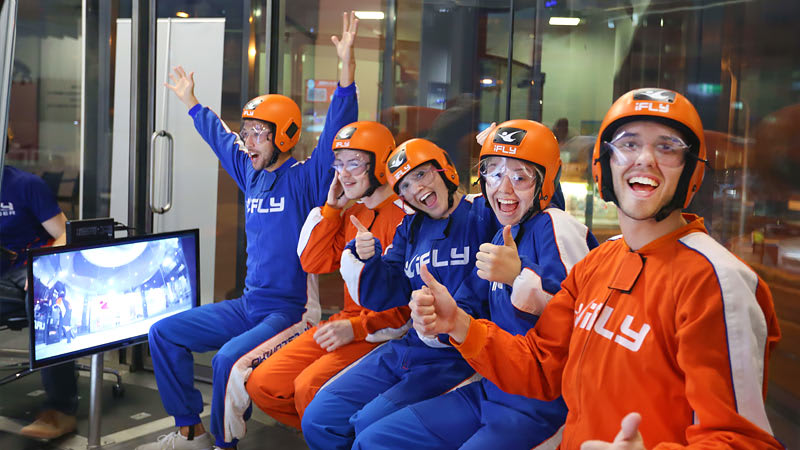 iFLY Indoor Skydiving Group Package, 10 Weekend Flights - Perth