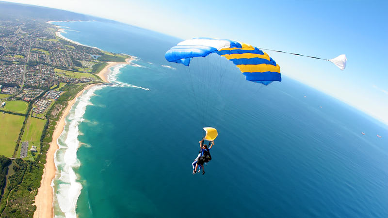 Born to Be Wild - Harley Davidson Ride and Skydive - For 2- Wollongong