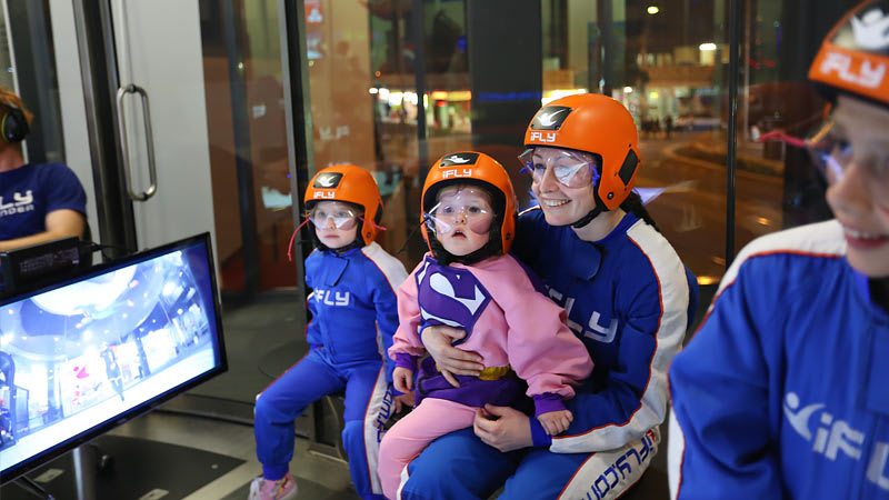 iFLY Indoor Skydiving Gold Coast, Group Package - 10 Flights