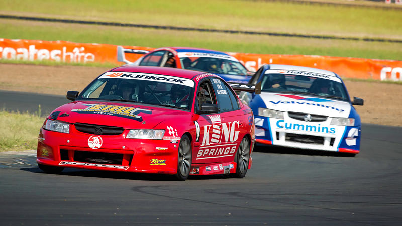 V8 Race Car 6 Lap Drive & 3 Lap Ride - Queensland Raceway