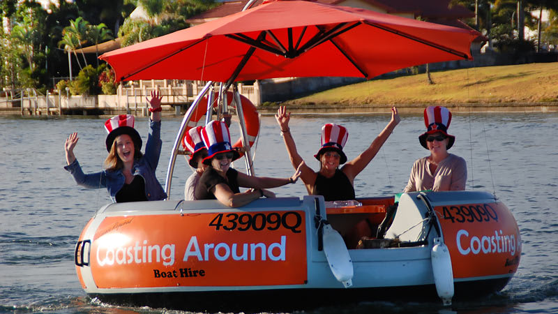 Round Boat Hire, 4.5 hour - Gold Coast - EOFY SPECIAL!