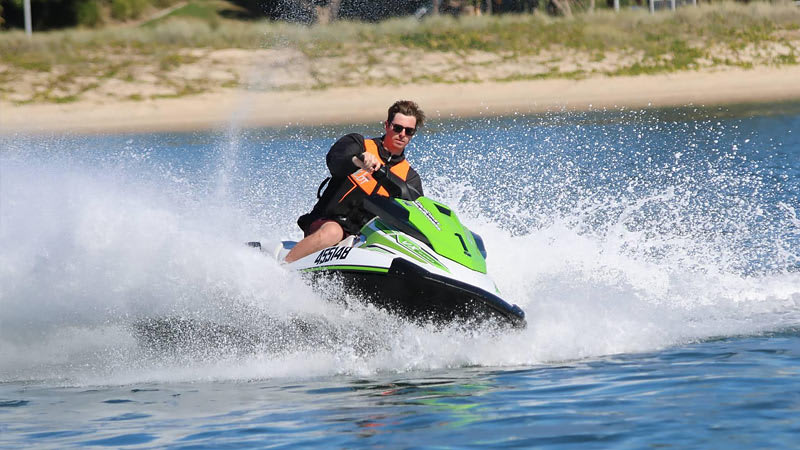 2 Hour Awesome Jet Ski Adventure Tour (Solo Jet Ski) NO LICENCE REQUIRED  - Gold Coast