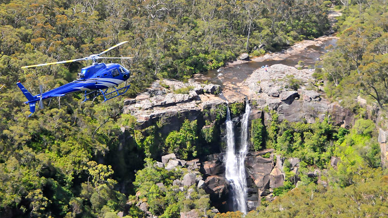 Helicopter Waterfall Discovery - 30 minutes - Wollongong