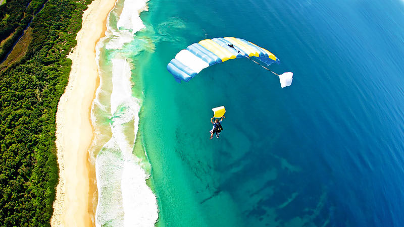 Skydiving Over The Beach Wollongong - Weekend Tandem Skydive Up To 15,000ft