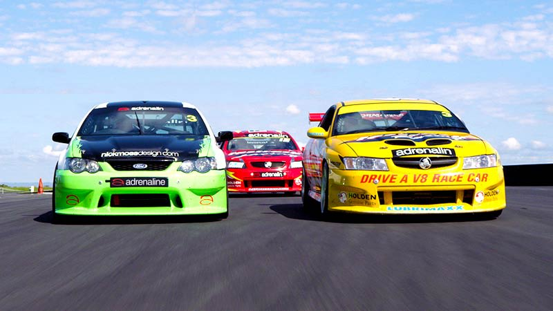 V8 Drive & Hot Laps (FRONT SEAT EXCLUSIVE!), 7 Lap Combo - Sandown Raceway, Melbourne