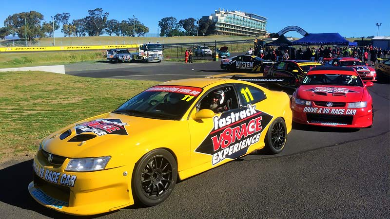 V8 Drive & Hot Laps (FRONT SEAT EXCLUSIVE!), 11 Lap Combo - Sandown Raceway, Melbourne