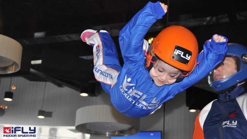 Indoor Skydiving Perth WA, iFLY Basic (2 Flights) - BUY ONE GET ONE FREE - Weekday
