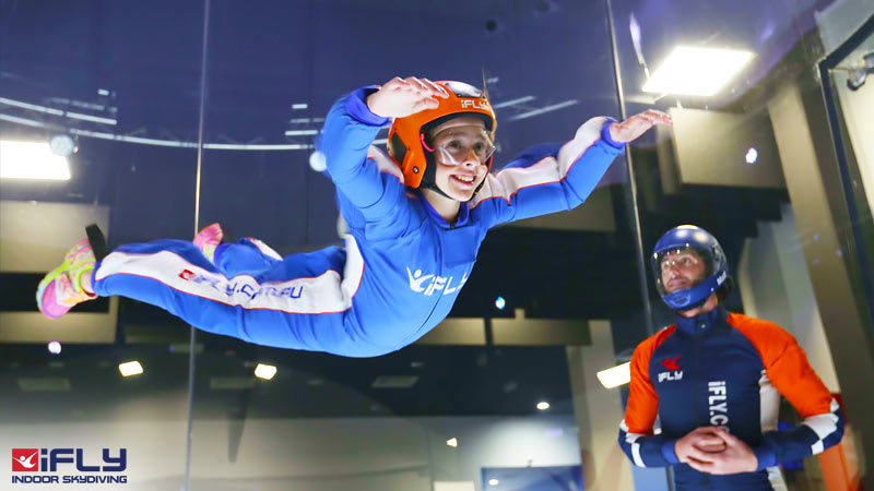 iFLY Indoor Skydiving Perth - 2 Flights, Midweek