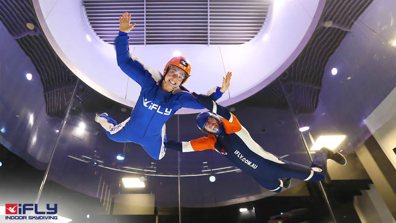 Indoor Skydiving Perth WA, iFLY Intro Package (2 Flights) - NOW FLYING