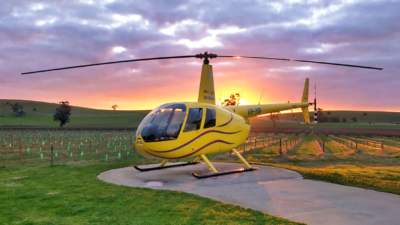 20-minute Private Helicopter Flight, Barossa Valley - For 2