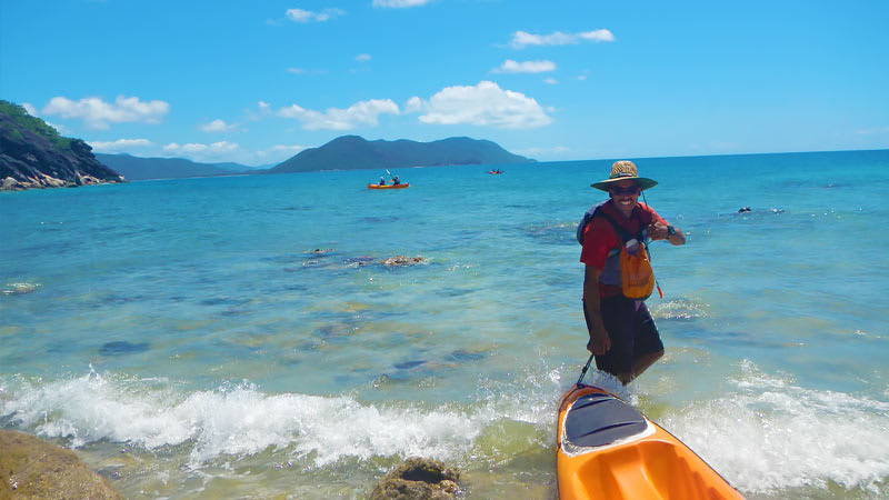 Sea Kayaking Fitzroy Island, Cairns