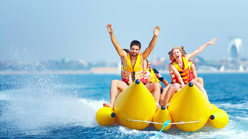 Jet Boat and Banana Boat Combo Package - Airlie Beach