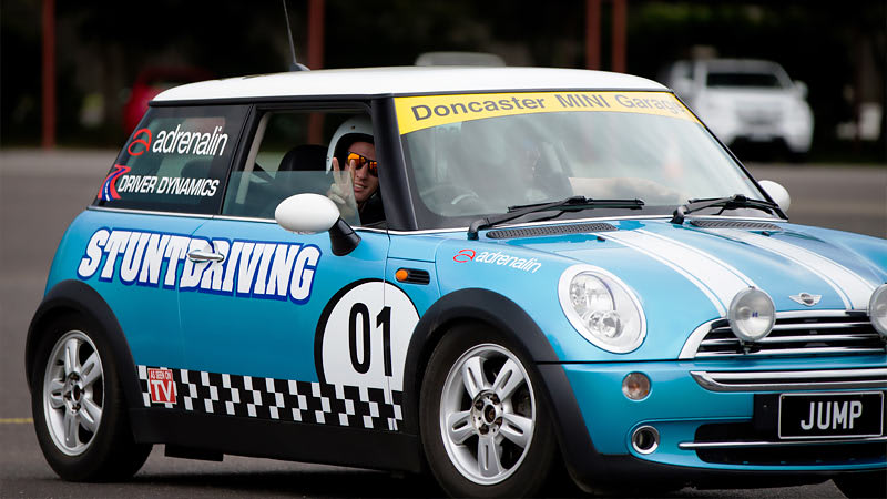 Stunt Driving, Passenger Wild Ride, Melbourne