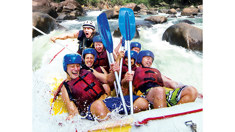 White Water Rafting, Tully River 1 day - Cairns