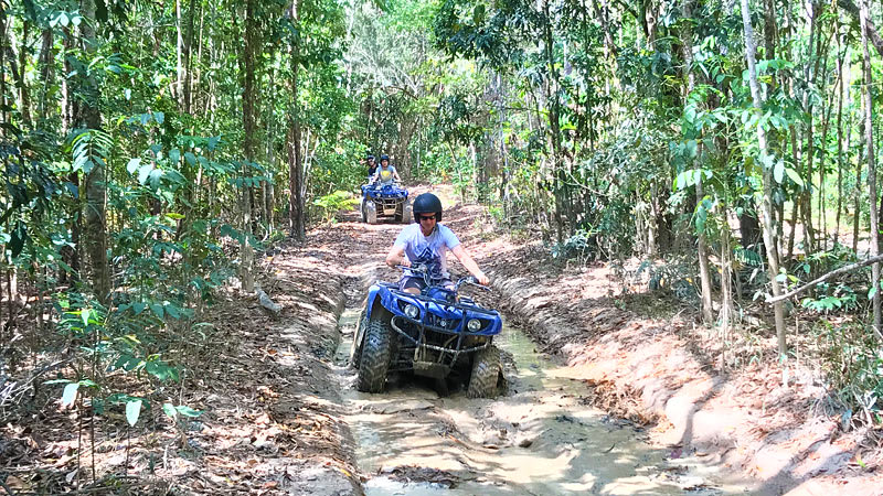 ATV and White Water Rafting Full Day Package - Cairns