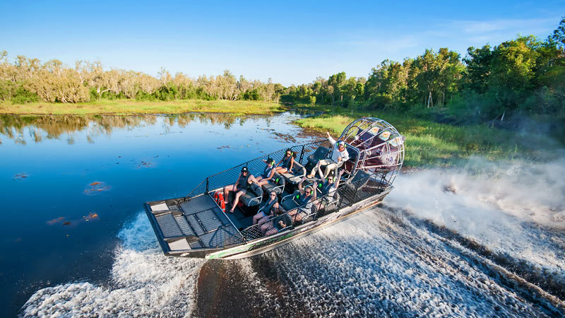 The Ultimate Outback Adventure on a Floatplane, Airboat and Cruise - Darwin