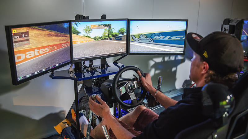 Full Motion Car Racing Simulator - 30 minutes