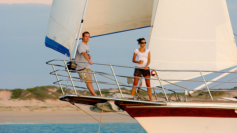 Perth Sailing Cruise, Carnac Island Adventure