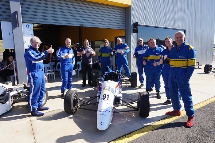 F1-Style Race Team Experience, 10 Laps - Sydney Motorsport Park, Eastern Creek