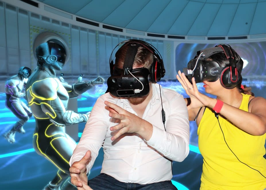 Virtual Reality Escape Room Adventure – Sydney