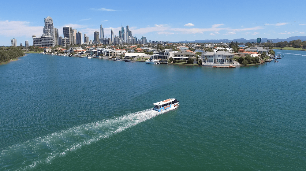 City Tour and River Cruise in an Amphibious Vehicle - Surfers Paradise