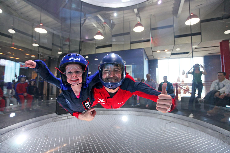 iFLY Melbourne Indoor Skydiving - 4 Flights - Weekend