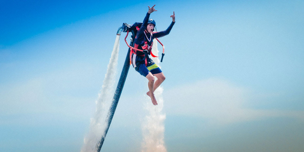 Jetpack Flight, 30 minutes - Phillip Island Mussel Rock